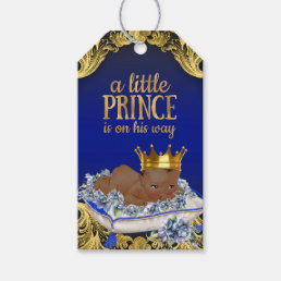 Ethnic Prince Baby Shower Gift Tags