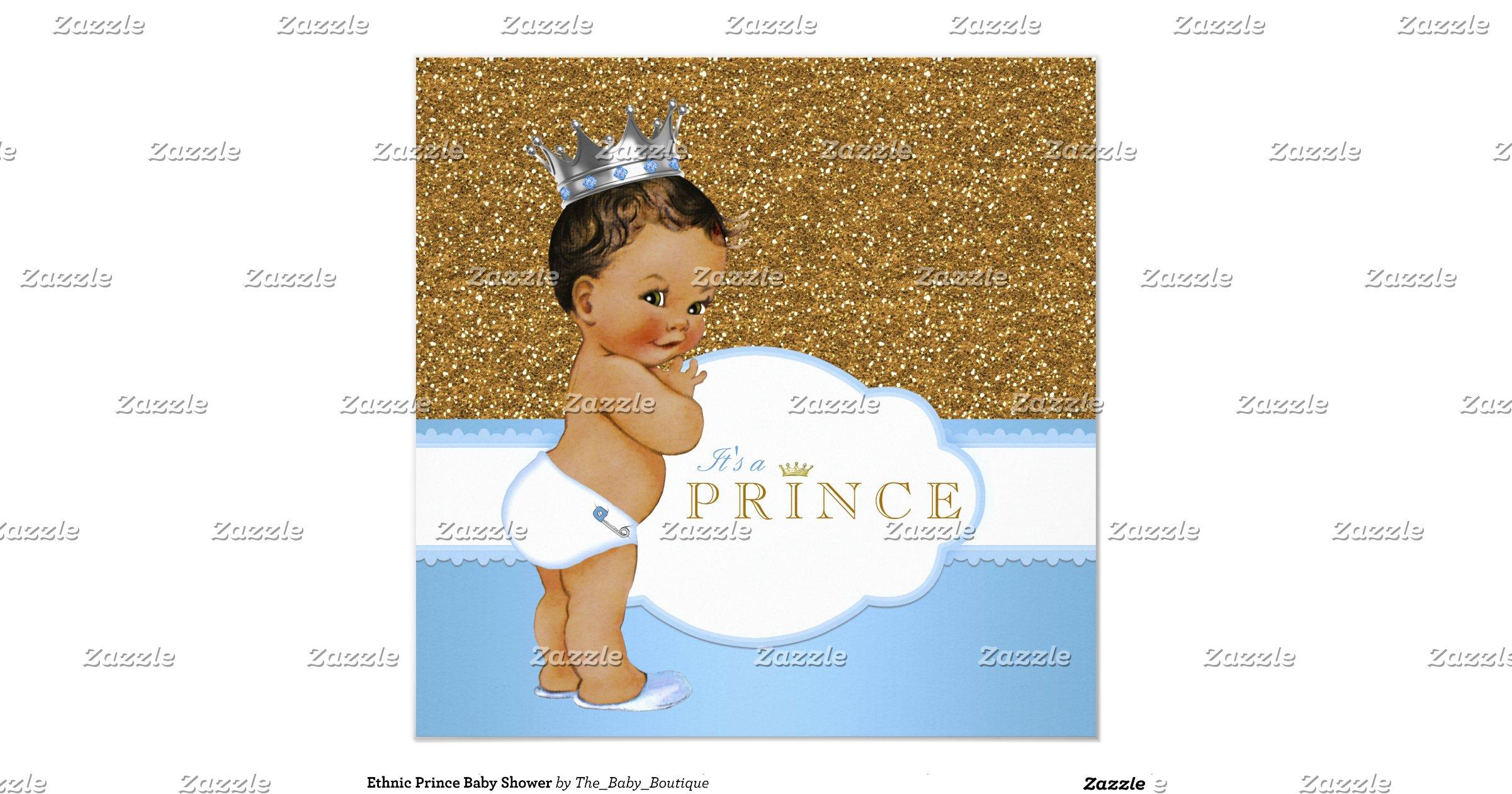 ethnic prince baby shower invitation rf0df07cc7b62413a8f91647c9f26511f