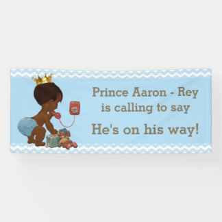 Ethnic Prince Calling to Say He's on His Way Banner