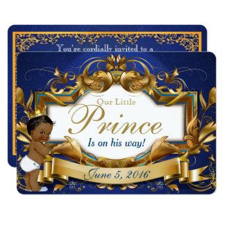 Ethnic Prince Royal Baby Shower Invitation