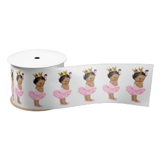 Ethnic Princess Baby Girl Satin Ribbon