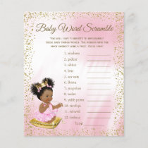 Ethnic Princess Baby Shower Games