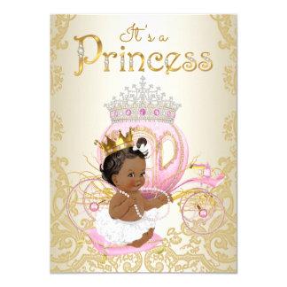 Ethnic Princess Baby Shower Invitations