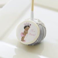 Ethnic Princess Pearl Baby Shower Cake Pops