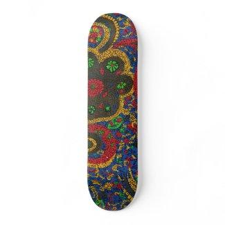 Ethnic Print skateboard