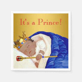 Ethnic Royal Prince Baby Shower Napkin