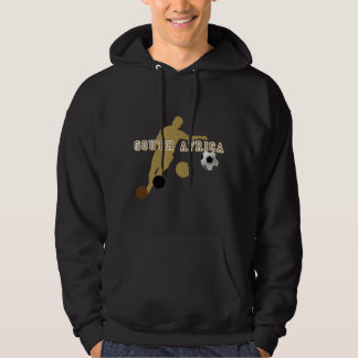 Ethnic South Africa Earth Tones Soccer player Hoodie