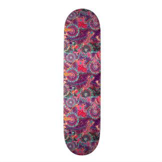 Ethnic Style Animal Pattern Skateboard