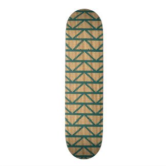 Ethnic Style Knitted Pattern Skateboard Deck