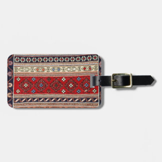 Ethnic Tapestry Print Tags For Bags