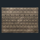 "Ethnic Tribal  Pattern on canvas Cloth Placemat<br><div class=""desc"">Ethnic Tribal  Pattern on canvas</div>"