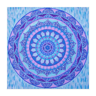 Ethno Mandala Canvas Print