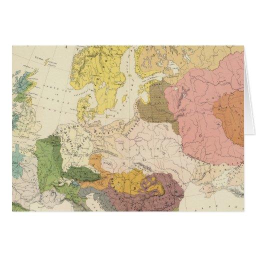 Ethnographic, Europe Greeting Card