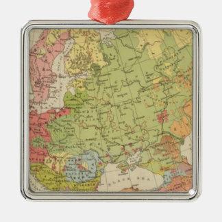 Ethnographic Europe Christmas Ornaments