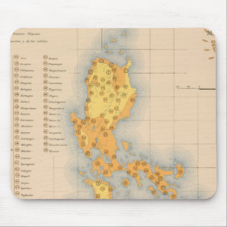 Ethnographic Map No 3 Mouse Pad