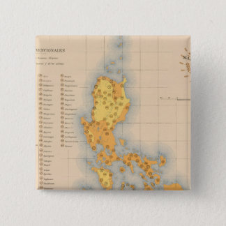 Ethnographic Map No 3 Pinback Button