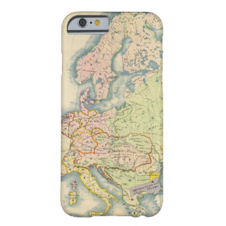 Ethnographic map of Europe Barely There iPhone 6 Case