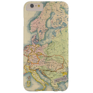 Ethnographic map of Europe Barely There iPhone 6 Plus Case