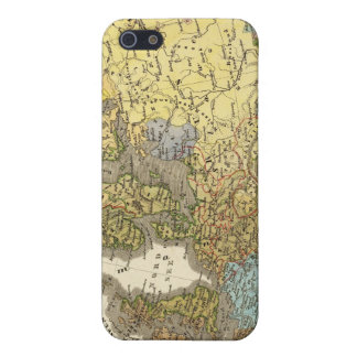 ethnographic map of Europe Case For iPhone SE/5/5s
