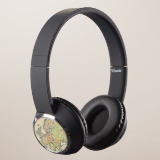 Ethnographic map of Europe Headphones
