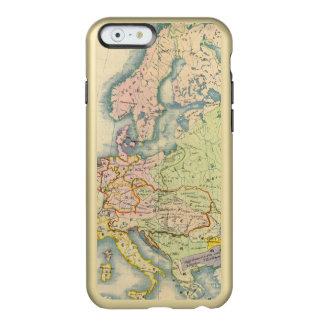 Ethnographic map of Europe Incipio Feather Shine iPhone 6 Case