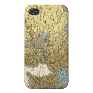 ethnographic map of Europe iPhone 4 Cover