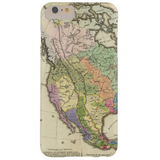 Ethnographic Map of North America Barely There iPhone 6 Plus Case