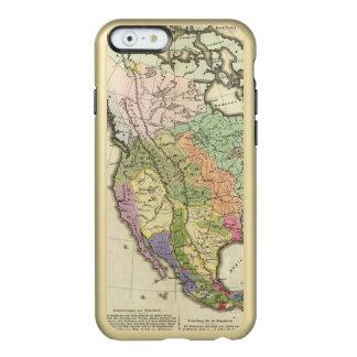 Ethnographic Map of North America Incipio Feather Shine iPhone 6 Case