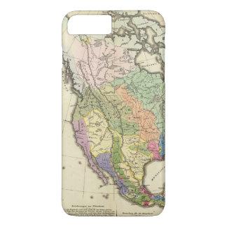 Ethnographic Map of North America iPhone 8 Plus/7 Plus Case