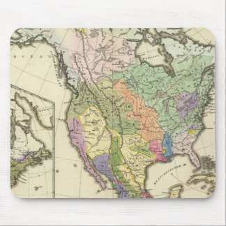 Ethnographic Map of North America Mouse Pad
