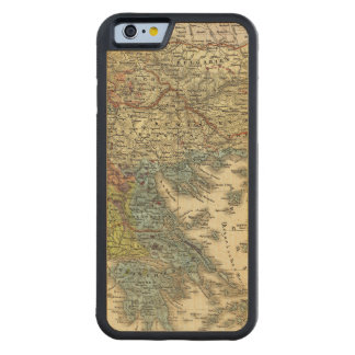 Ethnographic Map of Ottoman Empire Carved Maple iPhone 6 Bumper Case