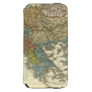 Ethnographic Map of Ottoman Empire iPhone 6/6s Wallet Case