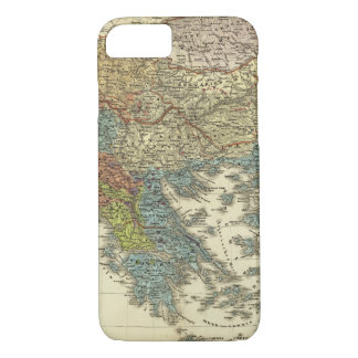Ethnographic Map of Ottoman Empire iPhone 8/7 Case
