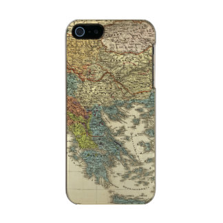 Ethnographic Map of Ottoman Empire Metallic Phone Case For iPhone SE/5/5s