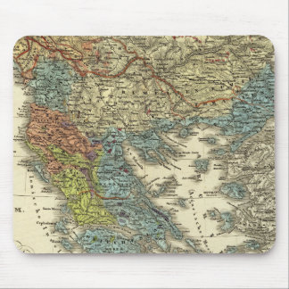 Ethnographic Map of Ottoman Empire Mouse Pad