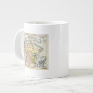 Ethnographs de Norteamérica Taza De Café Gigante
