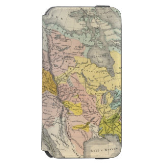 Ethnographs of North America iPhone 6/6s Wallet Case