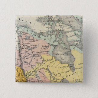 Ethnographs of North America Pinback Button