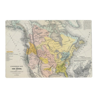 Ethnographs of North America Placemat