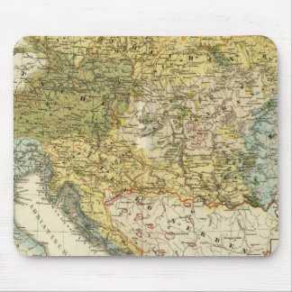 Ethnography Map of Europe Mouse Pad
