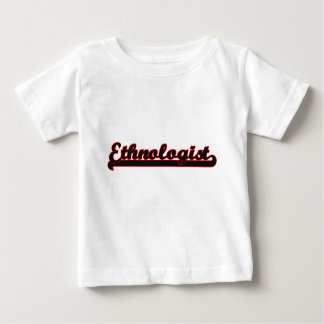 Ethnologist Classic Job Design Tee Shirt