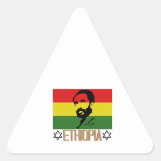 Ethopia Triangle Sticker