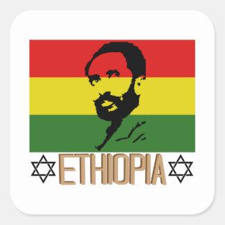 Ethopia Square Sticker