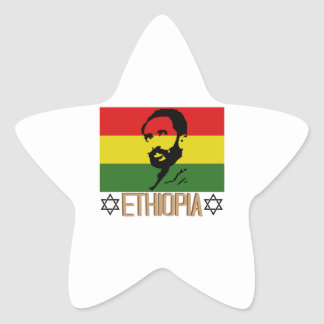 Ethopia Star Sticker