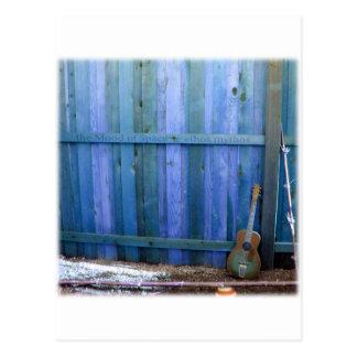 Ethos Mythos guitar wall Postcard