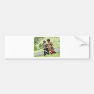 Etido and Azuka (Mark of Uru) Bumper Sticker