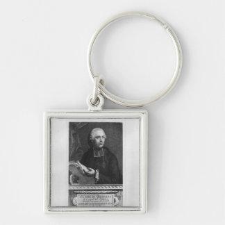 Etienne Bonnot de Condillac Keychain