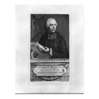 Etienne Bonnot de Condillac Postcard
