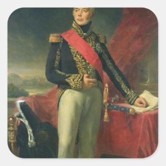 Etienne-Jacques-Joseph-Alexandre Macdonald Square Sticker