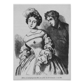 Etienne Lousteau speaking to an actress Poster